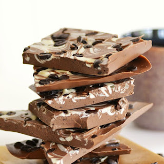 Delicious Starbucks Coffee Bean Chocolate Bark.