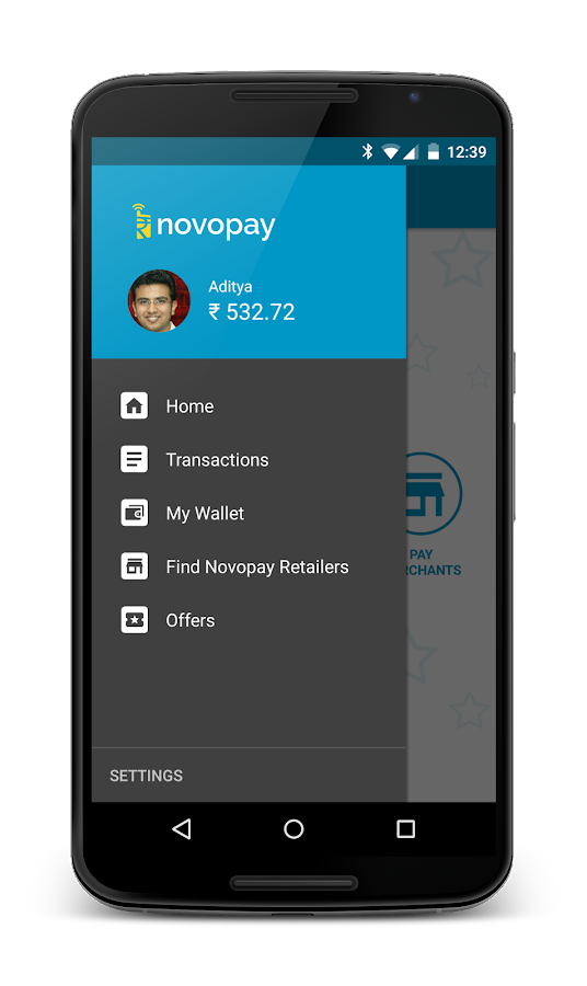Novopay- Send, Receive and Pay- screenshot
