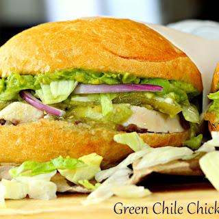 Green Chile Chicken Tortas