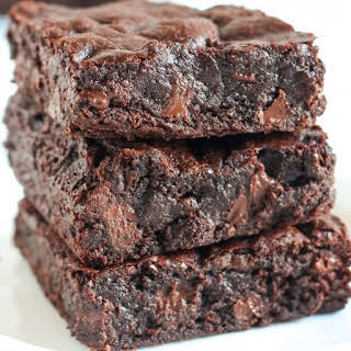 Best Ever Chewy Brownies.