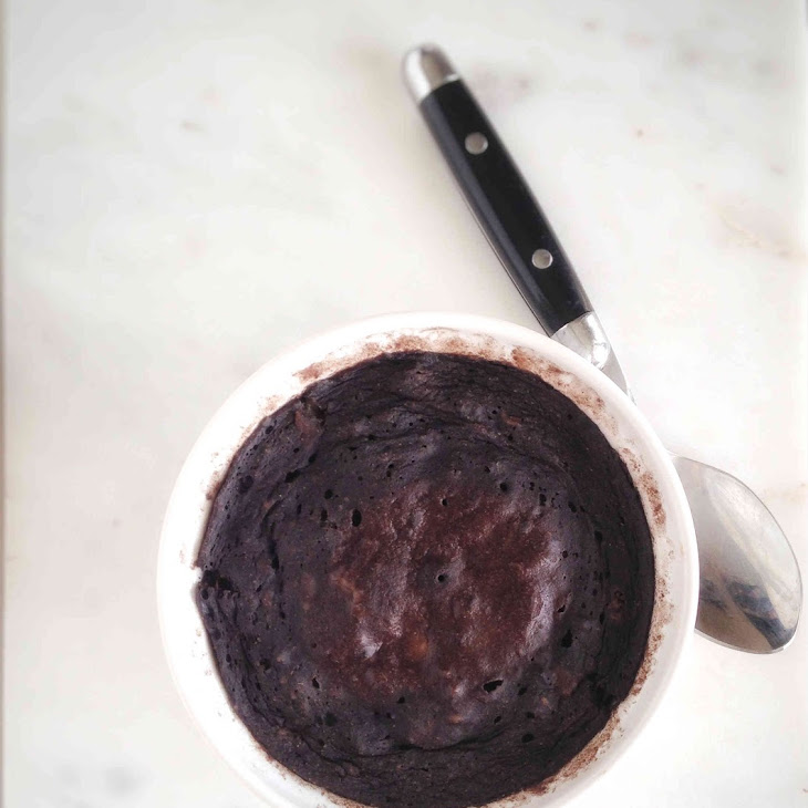 Vegan 2 Minute Chocolate Banana Mug Cake