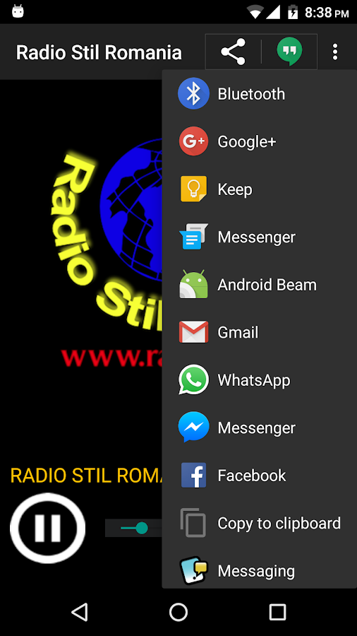 Radio Stil Romania- screenshot