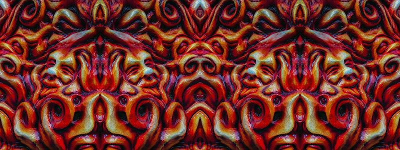 Fiamme, fuoco e demoni... Poco divina tanto commedia l'inferno di tanti di lugiube