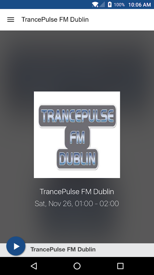 TrancePulse FM Dublin- screenshot