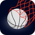 Bouncing Basketball-Casual Fun Dunk Real Game icon