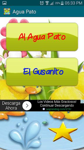 Al Agua Pato Video Infantil