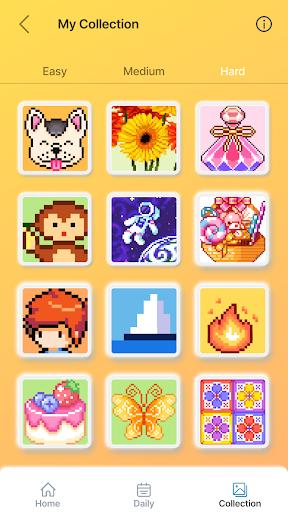 Happy Pixel - Free Nonogram Coloring Puzzle Game 2.5.0 screenshots 5