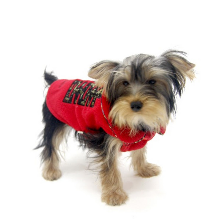 [Valentine PROMO] Red Color Double Happiness Dog Fleece Jacket