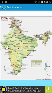 Maps of India:Travel Guide- screenshot thumbnail