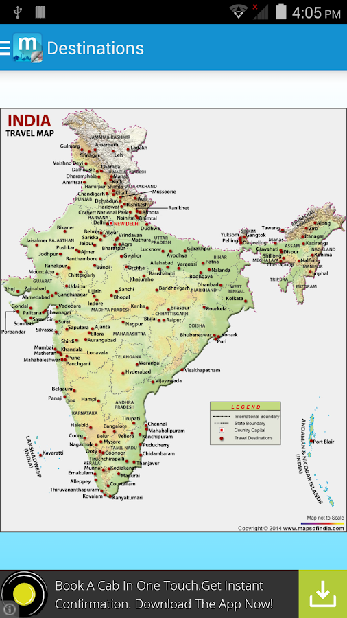 Maps of India:Travel Guide- screenshot