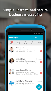 Business Messaging, Chat Bots- screenshot thumbnail