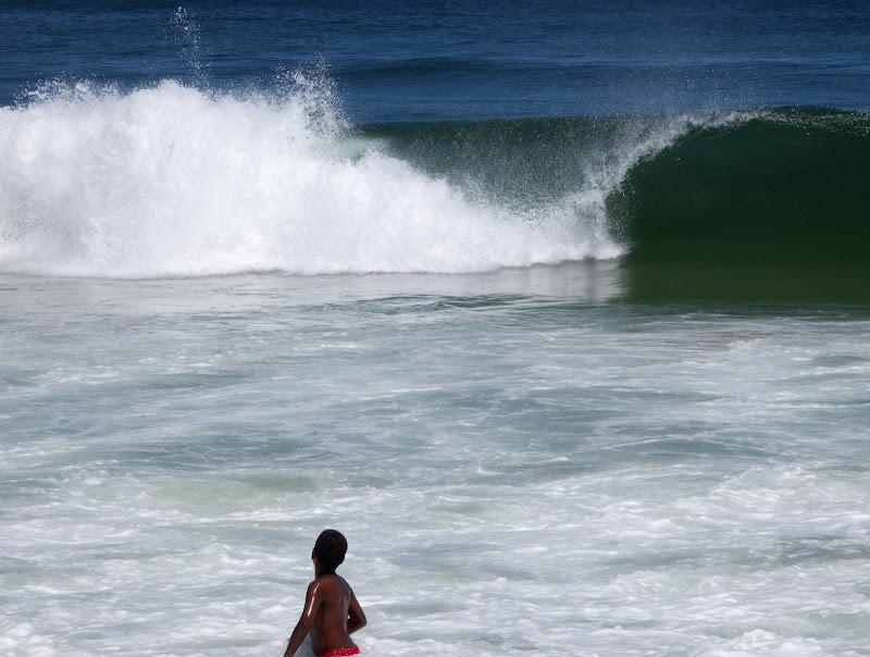 L'immensità del mare e lo stupore di un bambino di manolina