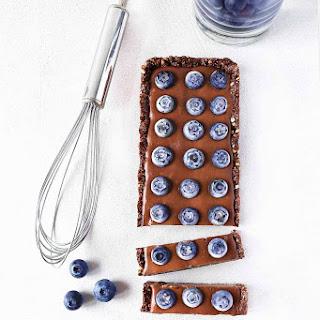 Blueberry Chocolate Ganache Tart
