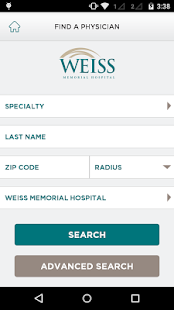 Weiss Memorial Hospital- screenshot thumbnail
