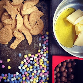 Leftover Easter Chocolate? Fridge Cake Tray Bake Recipes.