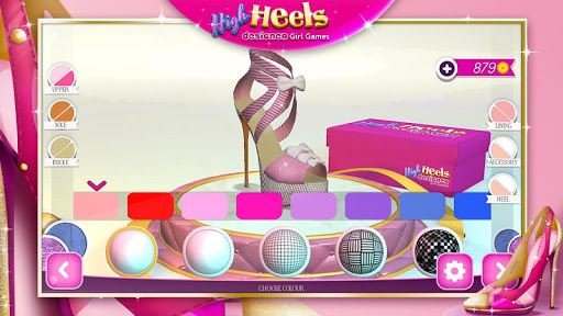 High Heels Designer Girl Games 2.1.1 Screenshots 3