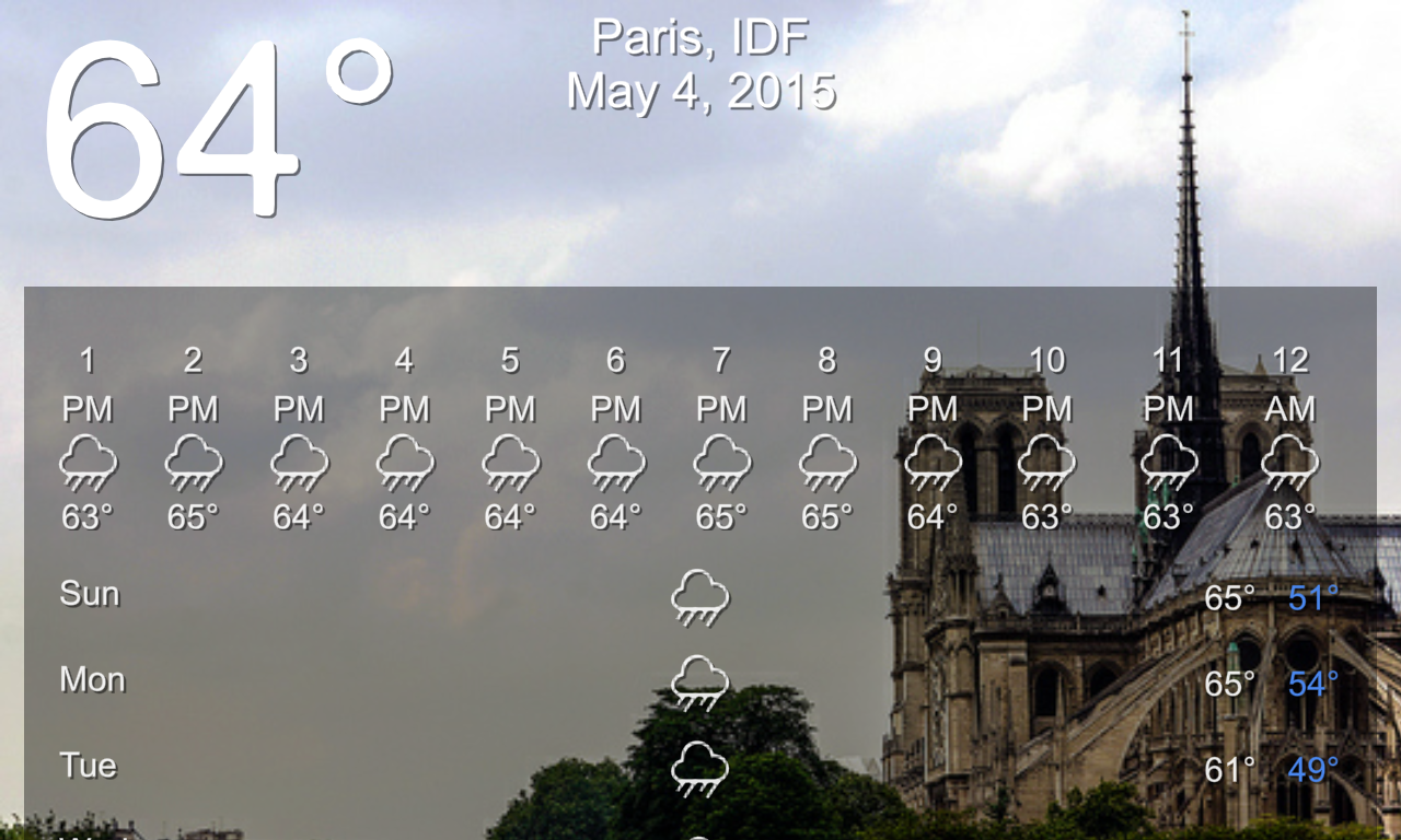 Weather Beautiful- screenshot