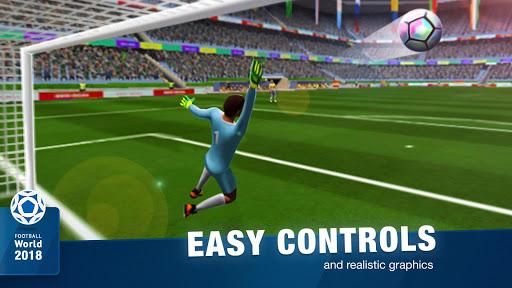 FreeKick Soccer World 2018 1.6.6 gameplay | by HackJr.Pw 5