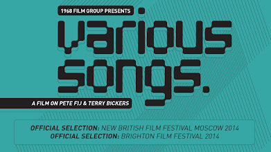 Photo: Various Songs poster: Poster design: Laime Lukosiunaite  www.twitter.com/1968FilmGroup  Official Selection: New British Film Festival Moscow 2014 Official Selection: Brighton Film Festival 2014  Now available On Demand: www.vimeo.com/ondemand/varioussongs  Peter Bromley's new documentary Various Songs is about 2 musicians, Pete Fij, former frontman of Adorable and Polak and Terry Bickers, guitarist with The House of Love and Levitation. Both are former label-mates of Creation Records, one of the most important record companies of the 80s and 90s. The film captures a highly creative time for the pair during which they release a new album. There is footage of Pete and Terry in the studio, interviews with them and key individuals who had a role in their musical life. Bromley's film is a unique document of two musicians who are passionate about playing and recording music.  Camera Jo Barker Camera Claude Bromley Sound Audrey McIlwain Editor Alice Gunn Producer Ranna McArdle Director Peter Bromley Production 1968 Film Group www.peterbromley.net www.1968filmgroup.net