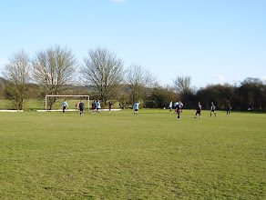 Photo: 18/04/13 v Bucks CC (Aylesbury & District League Premier Division) 0-5 - contributed by Andy Molden