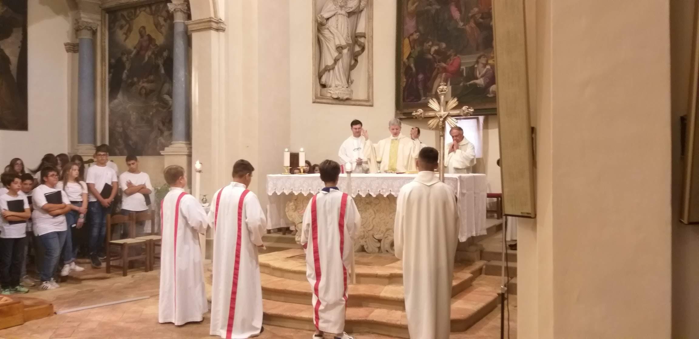 Inaugurazione Chiesa San Marco