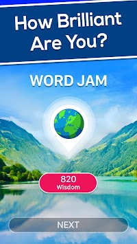 Word Jam: A word search and word guess brain game apk screenshot