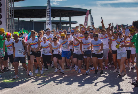 partenza del Color Run di angelo27
