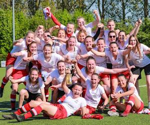 Vrouwenploeg OH Leuven kroont zich tot kampioen in tweede nationale B