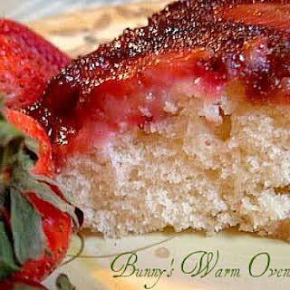 Strawberry Upside Down Cake.