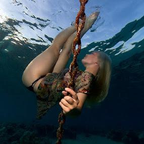 WaterWorks by Rico Besserdich - People Fine Art ( underwater, woman )