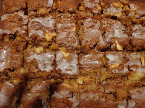 Apple-cinnamon Bars Recipe