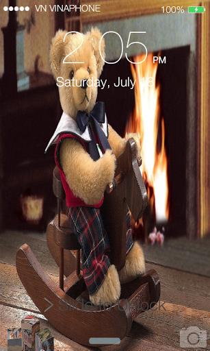 Teddy Bear Screen Lock