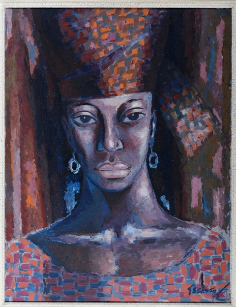 Image: The Senegal Woman by Gerard Sekoto
