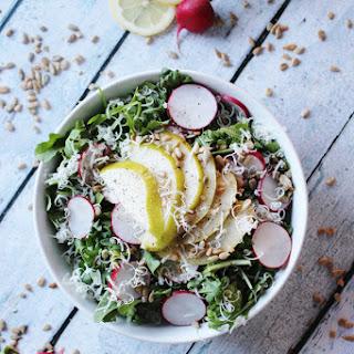 Crunchy Arugula & Pear Salad