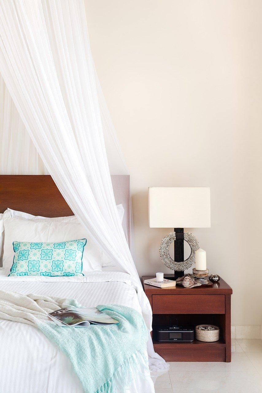 3. 寝室をホテル風に演出