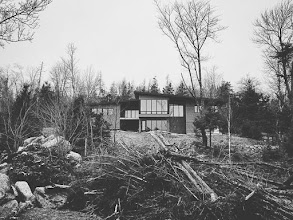 Photo: Private Residence Porter's Lake, Nova Scotia with Omar Gandhi Architect