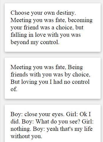 Romantic Text Whatapp
