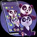 Sweet Panda Cartoon Theme icon
