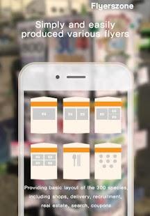 FlyersZONE: Free PR App - náhled