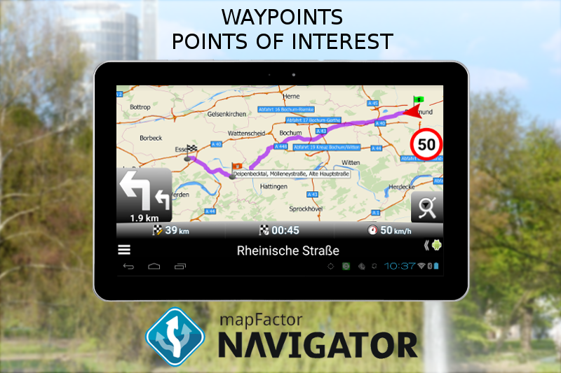 #11. MapFactor GPS Navigation Maps (Android)