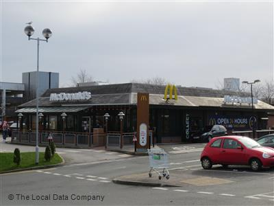 Mcdonalds On West Lane Fast Food Takeaway In Town Centre