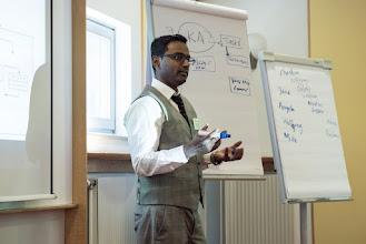 Photo: Workshop mit Yaquub Mohamed (Yamo)