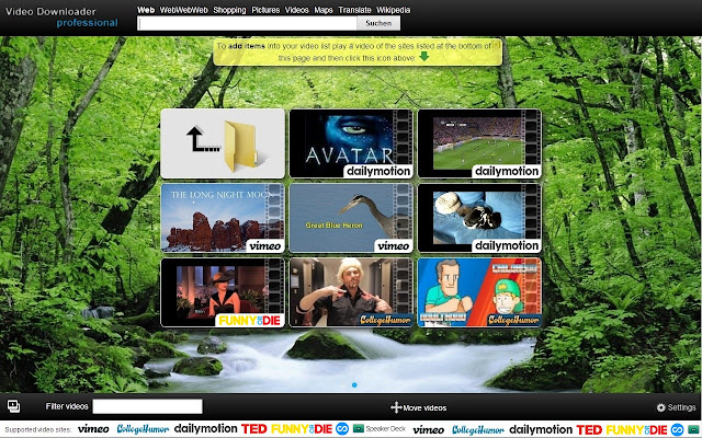 Video Downloader professional chrome extension