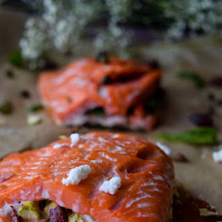 Stuffed Salmon (Two Ways)