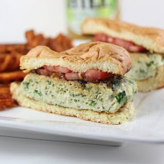 Spinach Feta Turkey Burger Recipe