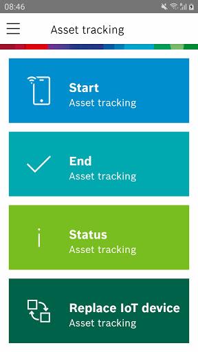 Bosch IO Track and Trace screenshot 1