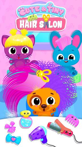 Cute & Tiny Hair Salon - Baby Pets Get Makeovers cheat screenshots 1