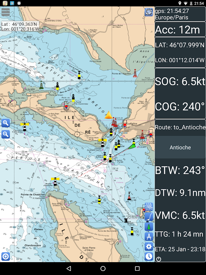 SailGrib Weather Routing Free- screenshot