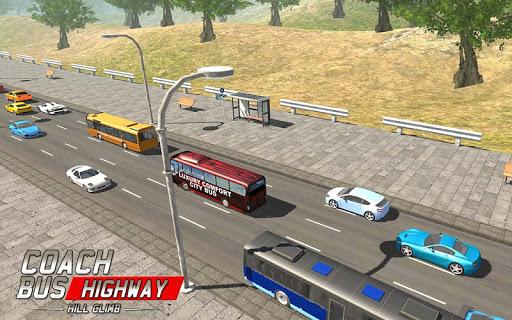 コーチバス高速道路のヒルクライム