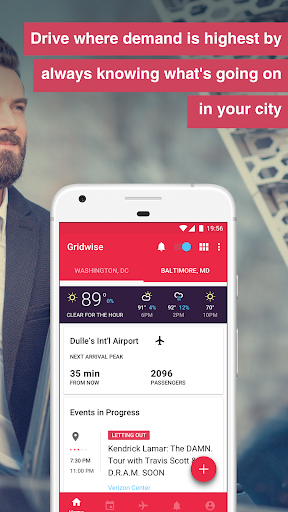 Gridwise - Earn more by driving smarter Screenshot